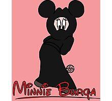 Minnie Burqa Photographic Print