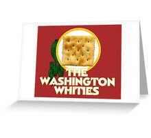 The Washington Whities Greeting Card