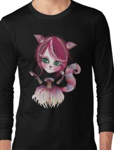 Cheshire Kitty Long Sleeve T-Shirt
