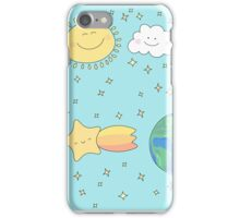 Over our sky  iPhone Case/Skin