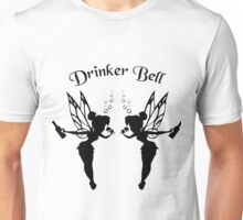 2 Drinker Bell Dark Unisex T-Shirt