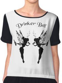 2 Drinker Bell Dark Chiffon Top