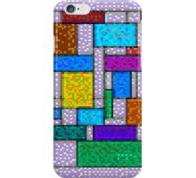 Mondrian Pixelate iPhone Case/Skin