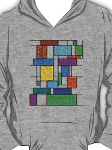 Mondrian Pixelate T-Shirt