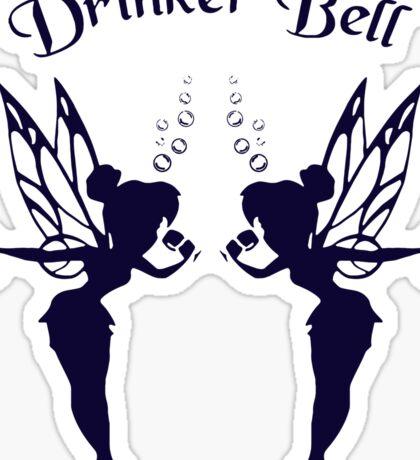 2 DrinkerBell Blue Sticker