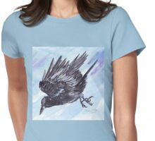 As the Crow flies Womens Fitted T-Shirt