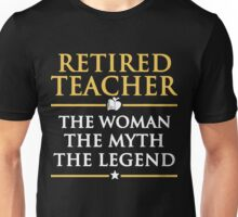 Retired Teacher T Shirt Unisex T-Shirt