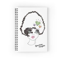 Sparkling Thoughts Spiral Notebook
