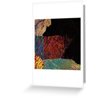 Fracture XLVI Greeting Card