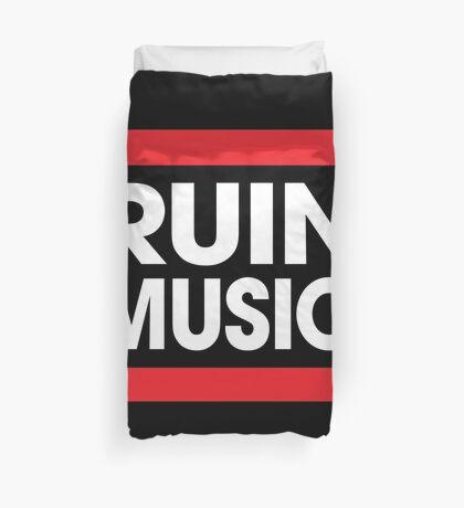 Ruin Music Duvet Cover