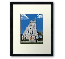 † ❤ † CHURCH OF THE GOOD THIEF KINGSTON ONTARIO † ❤ † Framed Print