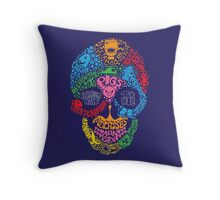 A Graphic Death Throw Pillow