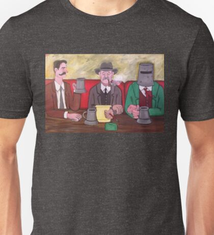 THE PISSPOT, THE POET AND THE OUTLAW Unisex T-Shirt