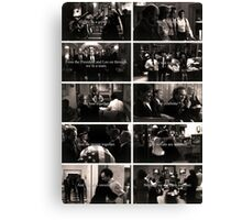 West Wing Team Canvas Print