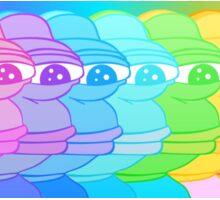 rainbow pepe Sticker