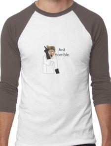 Just Horrible Men's Baseball ¾ T-Shirt