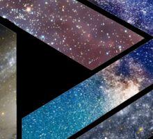 Intergalactic - Triangular Paradox Sticker