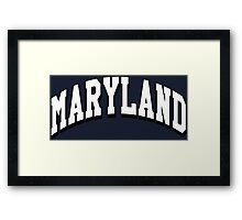 Maryland Classic MD Framed Print