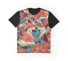 Foxes-Picnic-Cargo Graphic T-Shirt