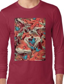 Foxes-Picnic-Cargo Long Sleeve T-Shirt