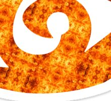 Runes Clairvoyant Sight Fire  Sticker