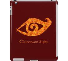 Runes Clairvoyant Sight Fire  iPad Case/Skin
