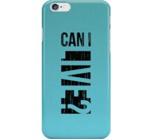 Can I Live - Jay-Z (B) iPhone Case/Skin