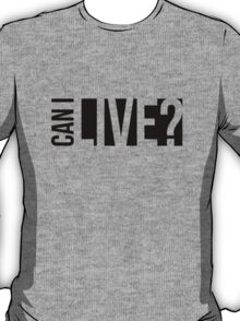 Can I Live - Jay-Z (B) T-Shirt