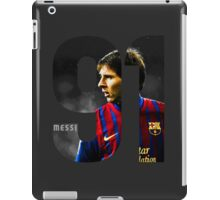 Lionel Messi 91 iPad Case/Skin