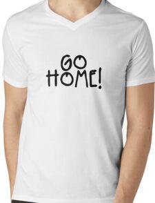 GO HOME! - Jay-Z Mens V-Neck T-Shirt