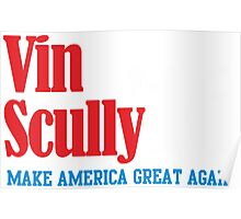 VIN SCULLY Poster