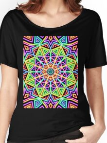 neon rainbow Women's Relaxed Fit T-Shirt