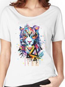 TIGER TSHIRT Women's Relaxed Fit T-Shirt