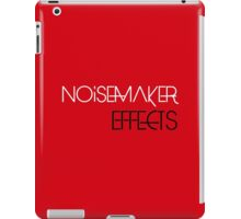 Noisemaker Effects - Two Tone iPad Case/Skin
