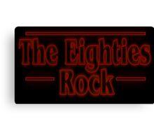Logo - The Eighties Canvas Print