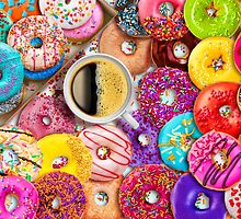 Donuts & Coffee by Aimee Stewart