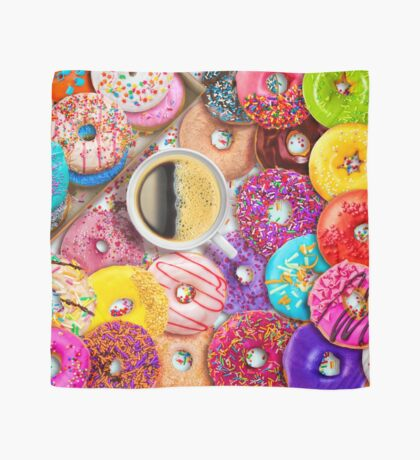 Donuts & Coffee Scarf
