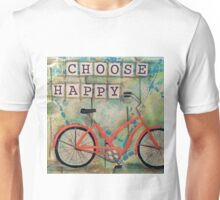 Choose Happy Unisex T-Shirt