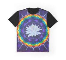 Sahasrara Crown Chakra Mandala Graphic T-Shirt