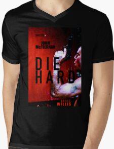 DIE HARD 9 Mens V-Neck T-Shirt