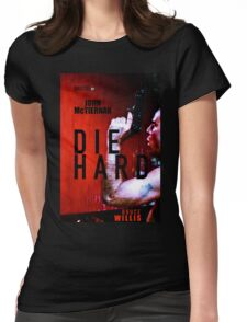 DIE HARD 9 Womens Fitted T-Shirt