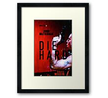 DIE HARD 9 Framed Print