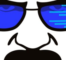 Coding Bad Heisenberg Sticker