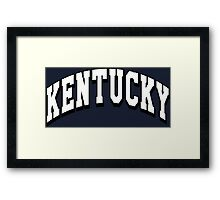 Kentucky Classic KY Framed Print