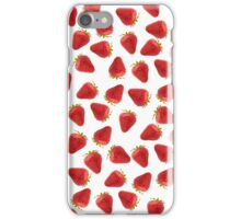 Luscious Strawberries iPhone Case/Skin