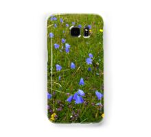 A sea of Harebells, Rossbeg, Co Donegal Samsung Galaxy Case/Skin