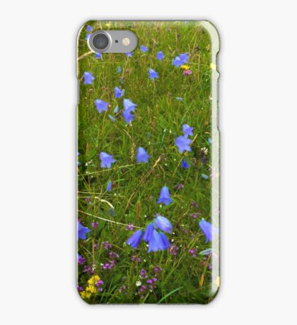 A sea of Harebells, Rossbeg, Co Donegal iPhone Case/Skin
