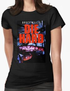 DIE HARD 10 Womens Fitted T-Shirt