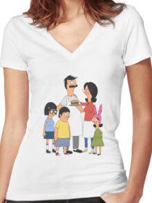The Belcher Family! Women's Fitted V-Neck T-Shirt