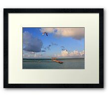 Playa Guillermo Framed Print
